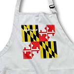 click on State Flag Of Maryland to enlarge!