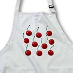 click on Cherries, lots of sweet delicious cherries for fruit lover. Cherry pattern of red fruit with stems to enlarge!