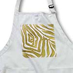 click on Rab Rockabilly Zebra Print Metallic Gold and White to enlarge!