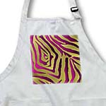 click on Rab Rockabilly Zebra Print Metallic Pink and Gold to enlarge!