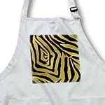 click on Rab Rockabilly Zebra Print Metallic Gold and Black to enlarge!