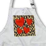 click on Cheetah Print With 4 Red Hearts to enlarge!