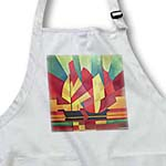 click on Sails and Ocean Skies - red, green, yellow, boats, cubism, sailboat, sails to enlarge!