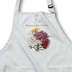 click on Happy Birthday - flowers, carnations, bouquet, carnation bouquet, pink carnation, yellow carnation to enlarge!