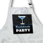 click on Bachelorette Party Gift - Black and Blue - Blue Martini to enlarge!