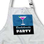click on Bachelorette Party Gift - Black and Blue - Pink Martini to enlarge!