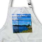 click on The Shore Line and Beautiful Blue Sky and Water Beveled, Textured and Done in Vibrant Colors to enlarge!