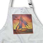 click on Happy Fathers Day- father, fathers day, boats, contemporary, hiddeboomsma, ochre, sailboat to enlarge!