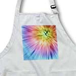 click on Colorful Starburst Tie Dye - vibrant colors burst out of this attractive tie dye design to enlarge!