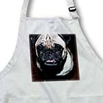click on Close Up of Tan and Black Pet Pug Doggie So Ugly It is Cute to enlarge!