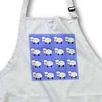 click on Cute cartoon sheep or lambs on a blue background. Go ahead count them. to enlarge!