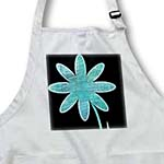 click on Turquoise Flower - Fun Floral Art to enlarge!