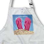 click on Pink Summer Flip Flops On Beach to enlarge!