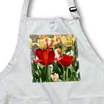 click on Tulips - Red Flowers - Floral Photography - Spring to enlarge!