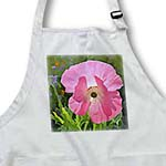 click on Pretty Pink Poppy Flower - Floral Art to enlarge!