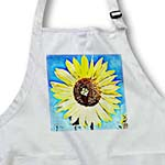 click on Painted Yellow Sunflower - Floral Art - Flowers to enlarge!