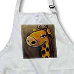 click on Female giraffe cartoon painting to enlarge!