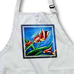 click on Oil Painting of Tulips to enlarge!