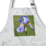 click on Lavender Iris Flower - Spring - Floral Print - Photography to enlarge!