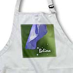 click on Believe - Iris Flower Petal - Inspirational - Floral Print to enlarge!
