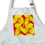 click on Yellow and Orange Hawaiian Hibiscus Floral Print - Tropical Art to enlarge!