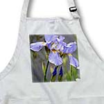 click on Dancing Irises - Flowers - Floral Print - Spring Photography to enlarge!
