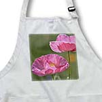 click on Pretty Pink Iceland Poppies in Spring - Floral Print to enlarge!
