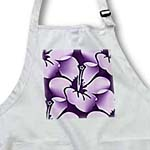 click on Lilac Hawaiian Hibiscus Flowers - Floral Print - Tropical Art to enlarge!