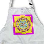 click on Bright Mandala pattern in hot pinks and yellows to enlarge!
