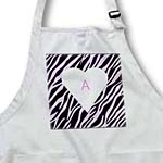 click on Pink Zebra With Letter A to enlarge!