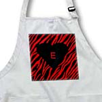 click on Red n Black Zebra With Black Heart n Letter E to enlarge!