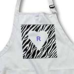 click on Zebra Print With Initial R to enlarge!