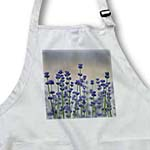 click on Field of Lavender Flowers - Spring - Floral Print to enlarge!
