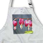 click on Heart Flowers - Bleeding Hearts - Floral Print - Spring to enlarge!