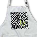 click on Trendy Zebra With Lime Green Butterfly to enlarge!