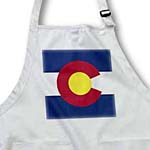 click on State Flag of Colorado (PD-US) to enlarge!