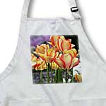 click on Orange and Yellow Tulips - Flowers - Floral Print to enlarge!