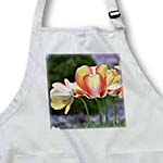 click on Orange and Yellow Spring Tulip Flowers - Floral Print to enlarge!