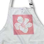 click on Pink Dotted Hawaiian Hibiscus Flower - Tropical Floral Print to enlarge!
