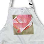 click on Peachy Pink Poppy Flower - Floral Print - Photography to enlarge!