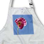 click on Pink Poppy and Sky - Spring Flowers - Floral Print to enlarge!