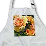 click on Romantic Roses - Peach Flowers - Floral Print to enlarge!
