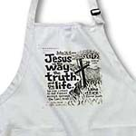 click on Jesus is the way the truth the light poster print to enlarge!