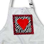 click on Red Heart On Zebra to enlarge!