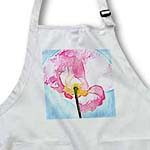 click on Painted Pink Poppy Flower - Floral Print - Art to enlarge!