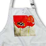 click on Painted Red Poppies - Flowers - Floral Print to enlarge!