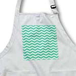 click on Aqua Blue Green and White Chevron Zig Zag Pattern aka Trendy Turquoise Teal to enlarge!