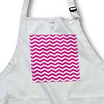 click on Hot Pink and White Chevron Zig Zag Pattern Classic Girly to enlarge!