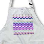 click on Purple Green and Beige Colorful Zig Zag Chevron Pattern inspired by knitted sweater patterns to enlarge!