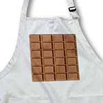 click on Fun Milk Chocolate Bar Squares Design for chocoholics and chocolate lovers to enlarge!